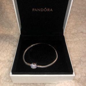 Pandora Charm Heart Bracelet